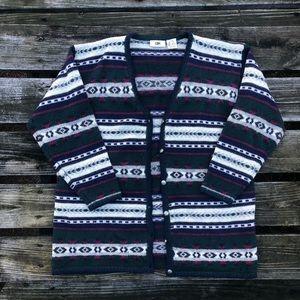BP. Vintage Nordstrom 100% Wool Cardigan